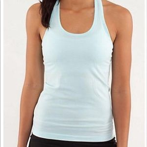 Lululemon Seafoam Run Swiftly Tank Top